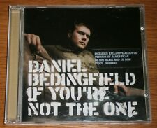 DANIEL BEDINGFIELD IF YOU'RE NOT THE ONE  / JAMES DEAN (I WANNA KNOW) CD SINGLE