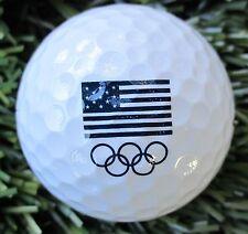 New Logo Golf Ball  -        2016  Olympics Golf , Rio de Janiero  ,  Brasil