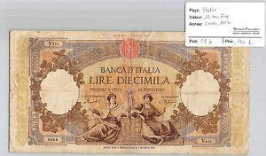 ITALIE 10000 LIRE 5 MAI 1952 V.431 N° 5844 PICK 89 b