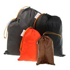 Pack of 5pcs Drawstring Stuff Sack Travel Camping Gadgets Accessories Bag
