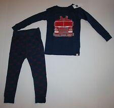 NUEVO BABY GAP 2 piezas Camión De Bomberos DEPARTAMENTO Pijama talla 2 Year 2t