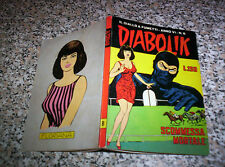 DIABOLIK ANNO VI (SESTO) ORIGINALE N.8 DEL 1967 BELLO.......KRIMINAL SATANIK