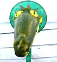 Metall Haken Aligator Vintage Grün Wandhaken Garderobe Kinder Bunt Krokodil