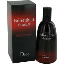 Fahrenheit Absolute Christian Dior 100ml/ 3.4oz EDT Intense Spray UnSealed Box