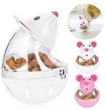 Cat Food Ball, Pet Toy Cat Slow Feeder Ball Mice Tumbler Shaped Cat/Dog Treat...