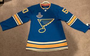 St Louis Blues Jordan Binnington Alternate Jersey