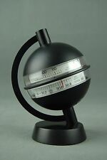 Vintage HUGER Weather Station + BOX Barometer Thermometer Germany 70s 80s Era