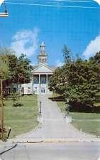 Cape Girardeau Missouri Court House Street View Vintage Postcard K62615