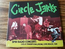 Circle Jerks – Spin Radio Concert - Long Beach, 1986 - CD NEW SEALED (500 only!