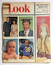 LOOK Magazine Oct 23,1951 MARILYN MONROE