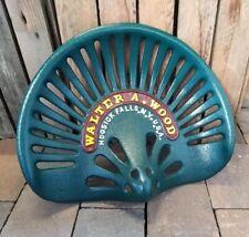 Siège de Tracteur Vintage Tracteur Trek Sièges Style Antique Fonte Bl