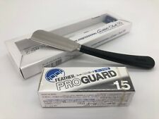 Feather Professional artist club SS ACS-NB Straight Razor and Pro Guard 15 New