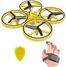MINIDRONE MINI DRONE INDUZIONE 4 ELICHE PORTATILE RADIOCOMANDATO COMANDO A MANO