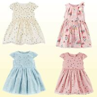 """Carter's Baby Girls Dress & Bloomers """"Dress Me Up"""" 2 Pc Set Party Occasion NWT"""