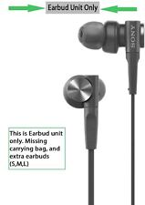 Sony Stereo Extra Bass MDR-XB50AP Earbuds Headphones w/ Integrated Mic, Black