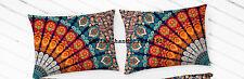 Indian Bedding Sofa Cushion Cover Bohemian Cotton Pillow Case Bed Pillows Throw