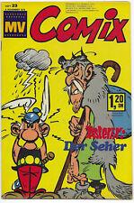 MV Comix Nr.23 vom 4.11.1972 Asterix, Isnogud, Jacqueline.. - TOP Z1 EHAPA COMIC