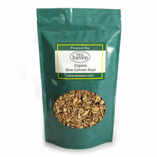 Organic Blue Cohosh Root Tea Caulophyllum Thalictroides Herbal Remedy - 1 lb bag