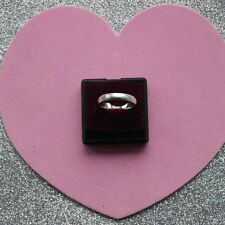 Nice Silver Satin Ring 2.6 Gr. Size L12 - M - M12 - N - N12 - O - Q12 - S