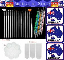 20pc Nail Art Pen Dotting Painting Drawing Polish Brush Tools UV Gel Design Hot