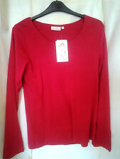 Jersey Crew Neck Casual Other Tops & Shirts for Women