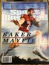 December 4, 2017 Baker Mayfield Oklahoma Sooners Sports Illustrated NO LABEL