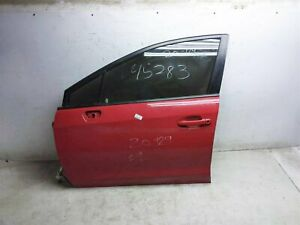 2018 2019 2020 Subaru Wrx Front Driver Left Door 60009Va0309p Red