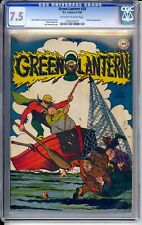 GREEN LANTERN #20   CGC 7.5 VF-  NICE OFF WHITE/WHITE PAGES!   FISHING COVER!