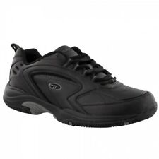 Hi-Tec BLAST LITE Mens Exercise Running Jogging Lace Up Trainers Black/Grey