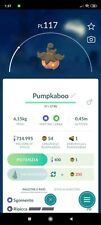 Pumpkaboo Pokemon Go Trading in Game