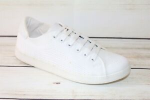 SEED Brand White Lace Up Sneakers Size 37 NEW