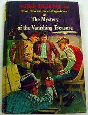 Three Investigators Mystery of the Vanishing Treasure 3rd Print hc Hitchcock