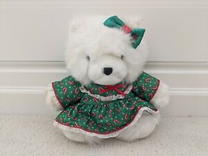 Vintage Dayton Hudson Santa Bear, 1990 Miss Bear