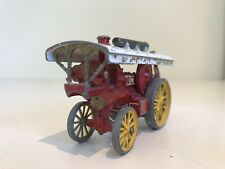🚜 Lesney MODELS OF YESTERYEAR No.9 BLACK LABEL SHOWMAN'S FOWLER ENGINE Matchbox