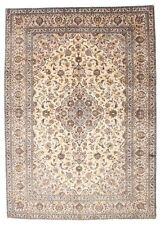 Alfombras persas color principal beige para pasillos, 100% lana
