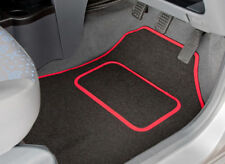 RENAULT MEGANE CABRIOLET/COUPE (1997-2003) TAILORED CAR MATS WITH RED TRIM 2346