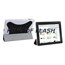 Magnetic Smart Cover With Hard Case & Stand For iPad 2 Black Protection Case