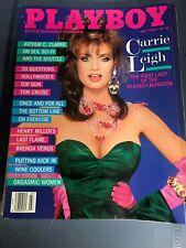 Playboy Magazine July 1986 Lynne Austin Carrie Leigh
