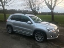 VW Tiguan 2011 R Line 4 Motion manual 2.0TDI silver diesel- Park assist &Leather