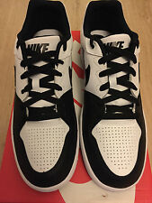 Nike Priority Low Q3 Ankle Trainers Mens White/Black Size 10 UK Brand New in Box