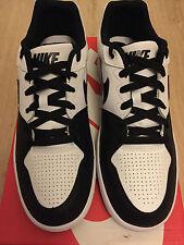 Nike Priority bajo Q3 tobillo Tenis Para Hombre Blanco/Negro Talla 10 Reino Unido a estrenar en caja