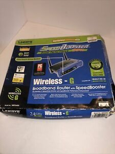 Linksys WRT54GS 54 Mbps 4-Port 10/100 Wireless G Router 1.B1