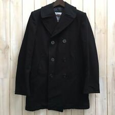 Woolen Long Regular Size Peacoat for Men