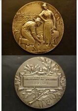 MEDAILLE AVENIR HORTICOLE DE COEUILLY CHAMPIGNY GRELLET DIAM 4,5 cm