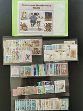 Caribbean stamps, Antigua and barbuda, virgin Islands, St lucia, lots mint