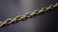 """3/8"""" x 10' G70 Bulk Chain for Binder Tie Down Flatbed Truck Trailer Safety Chain"""