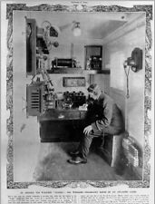"+PC-Postcard-""Telegraphy Room of An Atlantic Liner/Ship""  (B486)"