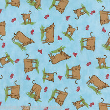 MODA Fabric ~ COW MILK KITCHEN ~ Mary Jane Butters (11611 15) - by the 1/2 yard