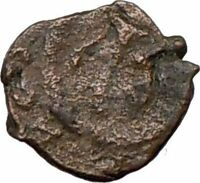 LEO I 457AD Authentic Genuine Ancient Roman Coin w MONOGRAM  i20629