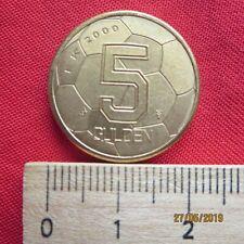 Niederlande - Netherlands 5 Gulden 2000 - Fußball - I